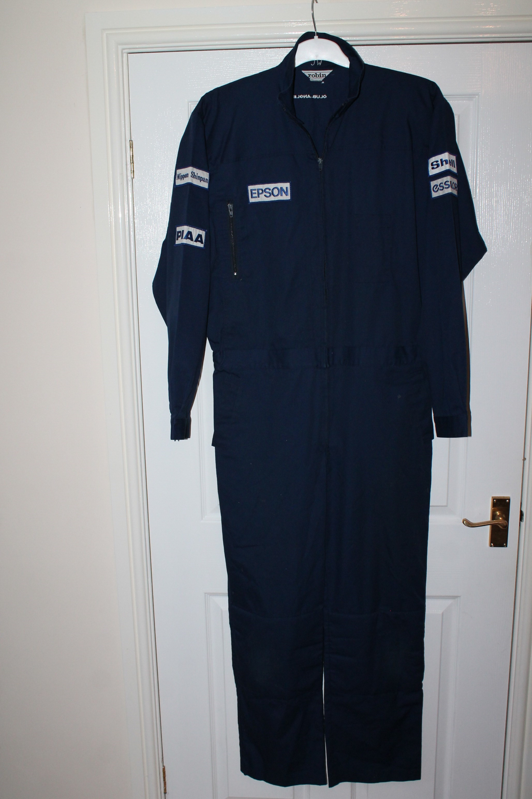 TYRRELL ORIGINAL PERIOD MECHANICS OVERALLS