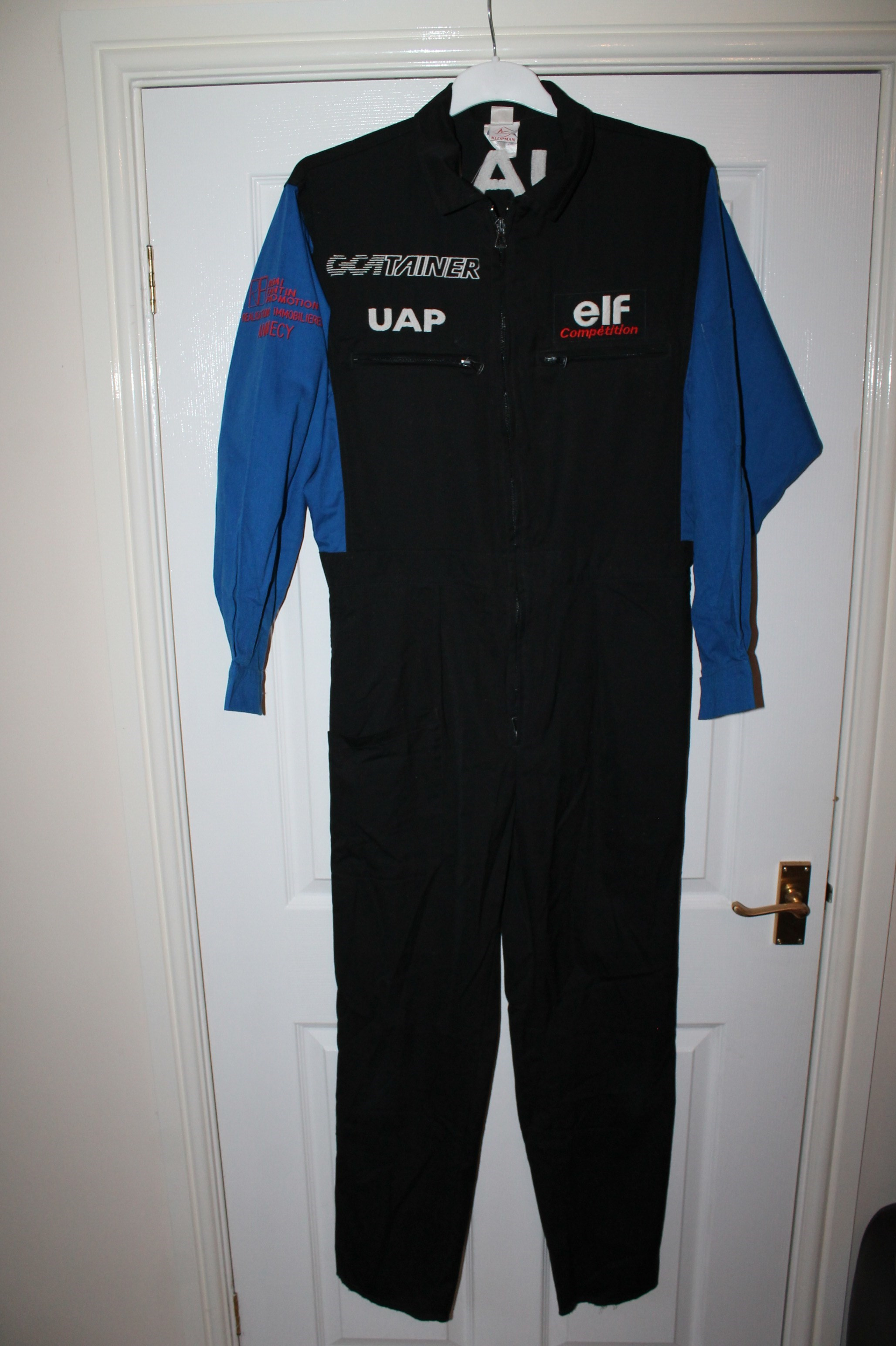 TYRRELL, ELF MECHANICS OVERALLS